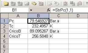 Phase envelope, diagram, curve, curves, Excel Matlab software